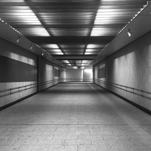 empty_1 B&w Tokyo Nightphotography Yurakucho Ginza Subway Blackandwhite