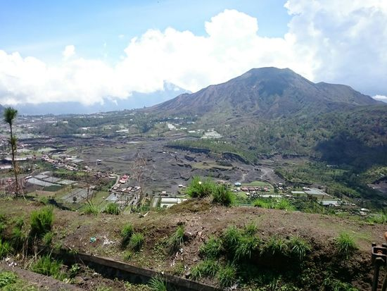 The natural beauty of the Pinggan Village in Kintamani Panorama ALaM