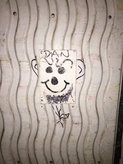 This is Dan Randimography Workplace At Work EyeEm Market © EyeEm Creativity Art And Craft Human Representation Graffiti Representation Text Communication