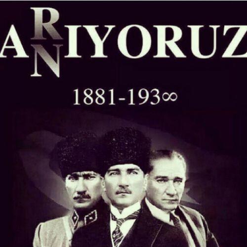 Sarı saçlım mavi gözlüm.Özlemle anıyor,arıyoruz seni Atatürk Asena