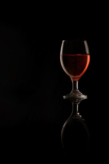 Red Wine Alcohol Black Background Close-up Copy Space Drink Food Food And Drink Freshness No People Still Life Studio Shot Wine Wineglass