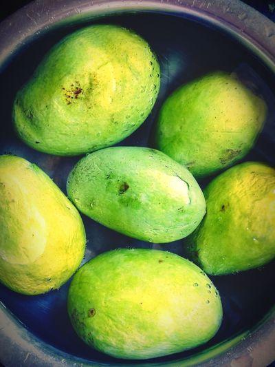 Mangoesummer Water Close-up Green Color Food And Drink
