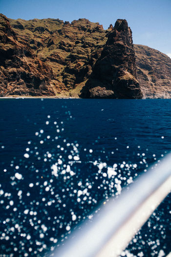 Boat ride - Tenerife Ocean View SPAIN Beauty In Nature Boat Day Land Mountain Nature No People Non-urban Scene Outdoors Rock Rock - Object Rock Formation Scenics - Nature Sea Sky Solid Sunlight Tenerife Tranquil Scene Tranquility Water