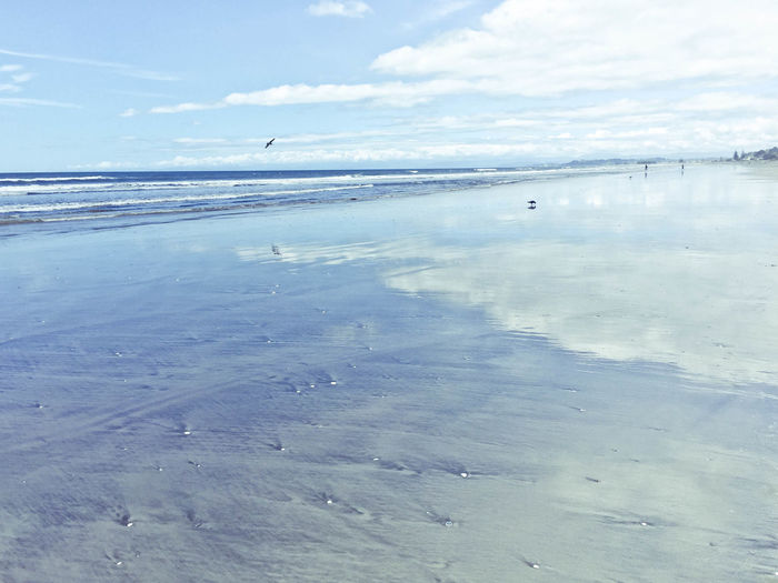 Animal Themes Bay Of Plenty Region Beach Beauty In Nature Day Horizon Over Water Nature New Zealand No People Ohope Outdoors Sand Scenics Sea Sky Tranquil Scene Tranquility Water
