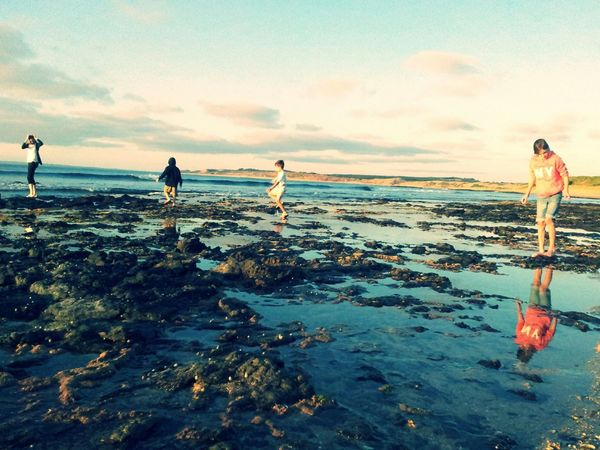 Rock Pools My Darlings Beachphotography Melbourne Rocks Photography Looks Like A Painting Water Bare Feet Rock Pool 4 Playing