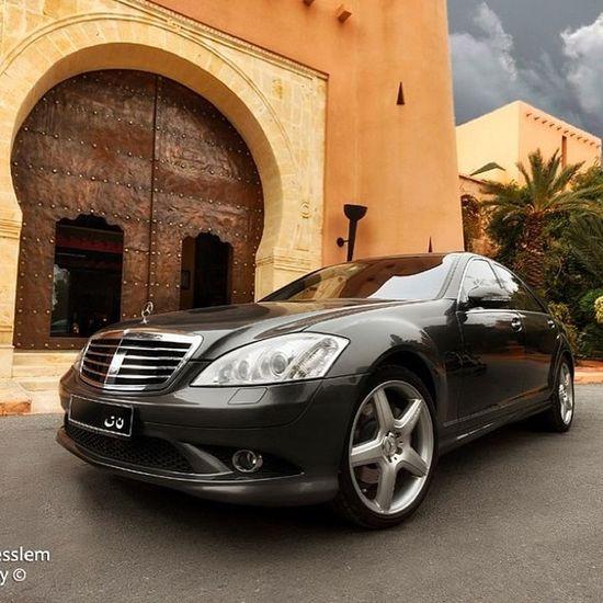 Mercedes Benz S500 W221 tunisia sousse amg
