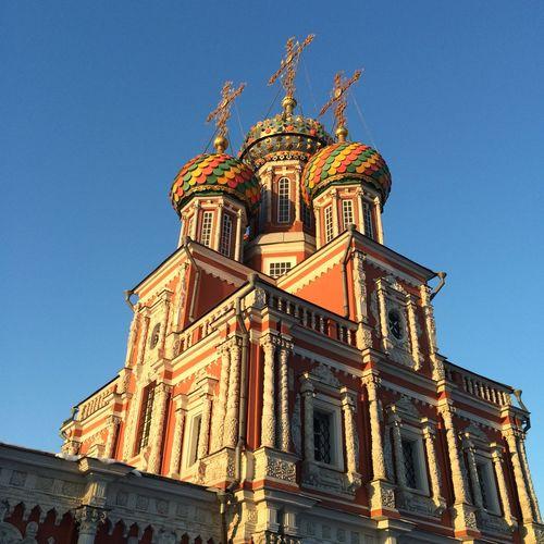 Hello World РождественскаяЦерковь Нижний НижнийНовгород зима Winter Nizhniy Novgorod