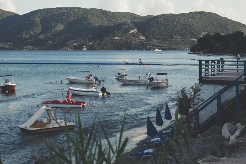 Boats Greece