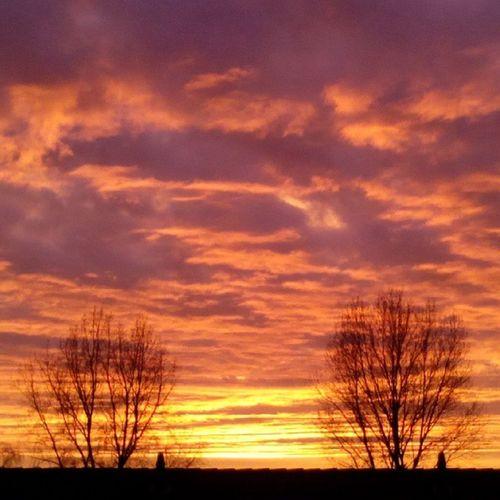 Sundown Sun Sunset Sunshine Beautiful View Nice Colour Clouds Ig_nl Igholland Ig_holland Skylover Sky Naturefreak Naturelover Ig_nature Ignederland Igholland Ig_nlpics Nofilter Thenetherlands Nederland Netherlands Holland friesland Heerenveen skyporn color