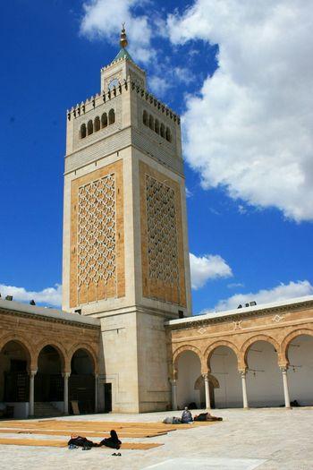 Tunis Tunisia Mosque Tunisie