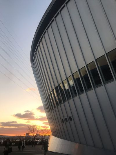 big whale Alena Building Sky Sunset No People Built Structure Architecture Outdoors Metal