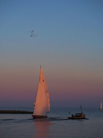 Taken at dusk from the Hoorn harbour in the Netherlands. Beach Dusk Hoorn, Harbour Hoorn, Netherlands Horizon Over Water Höör Mast Nature Nautical Vessel Netherlands No People Outdoors Sail Sailboat Sailing Scenics Sea Sky Sunset Water Wind