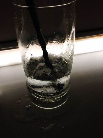 Water Glass Relaxing Glass Half Full Glass Half Empty Reflection Refreshing :) Thirsty  Thankyou Sweat