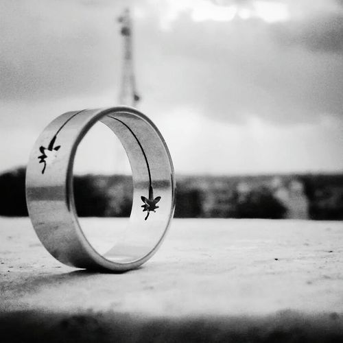 Better Look Twice Weedy Nature Weed Morning Ring Love