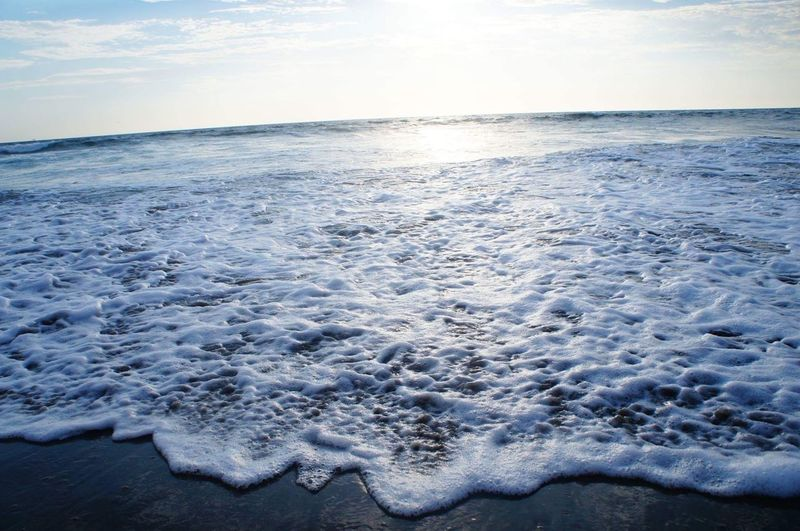Wave Nature Sea Water Outdoors Horizon Over Water No People Vichayito