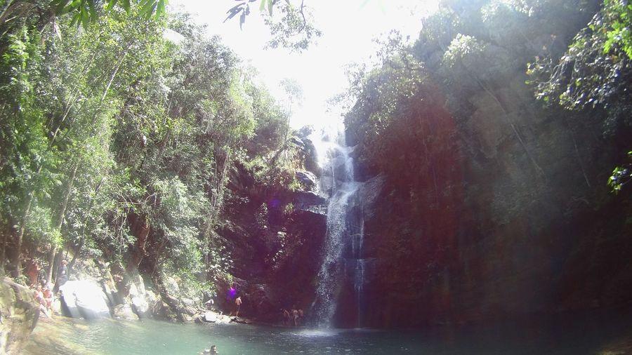 Water Sunlight Nature Beauty In Nature Cachoeira Santa Barbara, CA Brazil