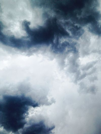 Stormy Sky Stormy Weather Black And Blue Storm Clouds Rain Or Shine