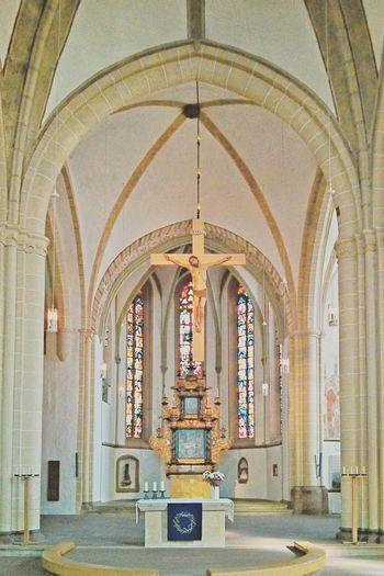 Kirche Nicolaikirche Nicolai St.Nicolai Lemgo HDR