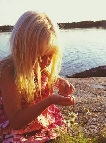 Summer Summergirl  Loves Me, Loves Me Not Summernight In Sweden
