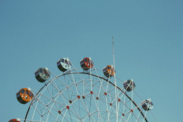 No People Sea Ferris Wheel Day Sky Outdoors Nature