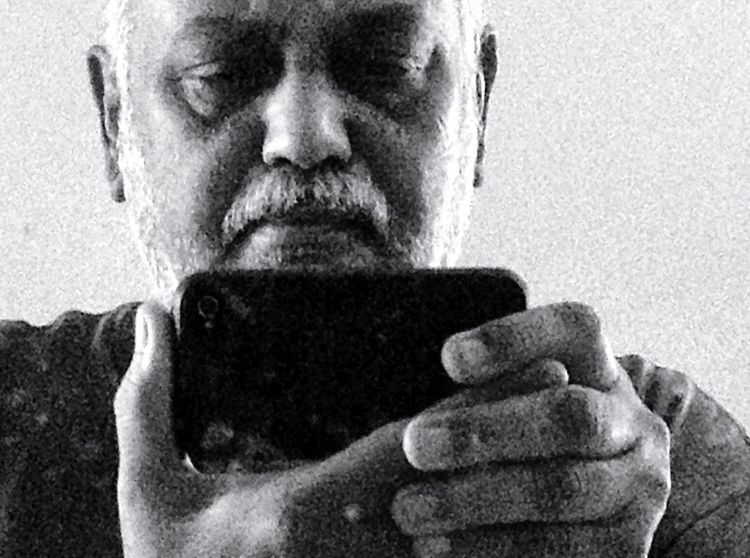 Me, My Camera And I In The Mirror Black & White