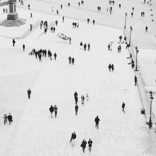 Warsaw Blackandwhite People EyeEmNewHere Flying High Connected By Travel The Graphic City Stories From The City The Traveler - 2018 EyeEm Awards
