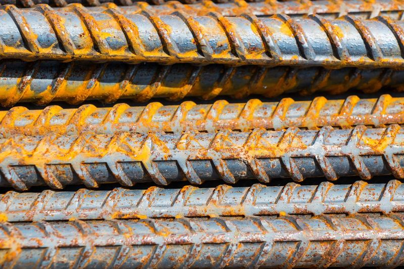 Rusty steel Full Frame Pattern Backgrounds Roof Architecture Day No People Roof Tile Rusty Metal Close-up Built Structure Building Outdoors Sunlight Brown High Angle View Old Nature Weathered