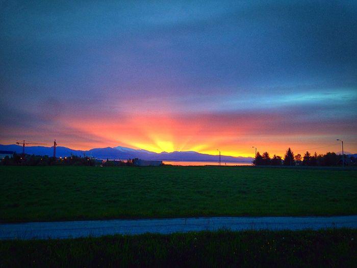 Sunrise Sky And