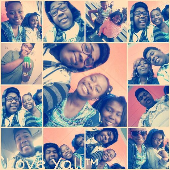 These, Goof Balls (: At Huffman For The Game Earlier