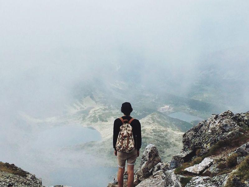 Mountains ManolValtchanov Balkan Clouds View Climbing Lake Mountainlake Rila Rila Lakes