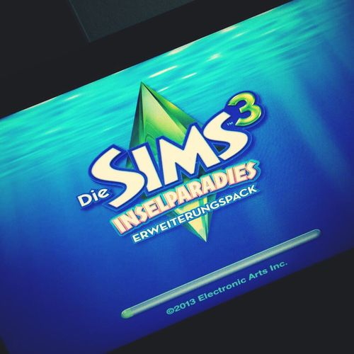 best game ? Thesims3 Video Games Laptop Happy