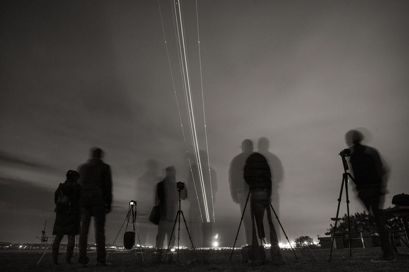 Showcase: November Leica Nightphotography Blackandwhite Long Exposure Airport Aviation