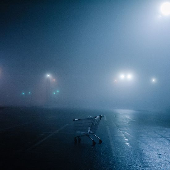 Foggy Fog Atmosphere Shopping Time Night Illuminated Nature No People Water Outdoors Sky Astronomy Galaxy Beauty In Nature EyeEm Ready