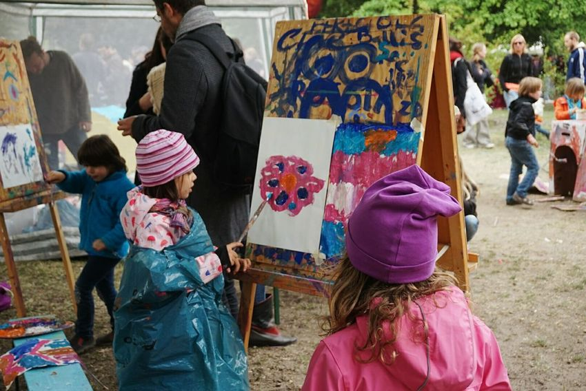 Kinderkunst Berlin Fest