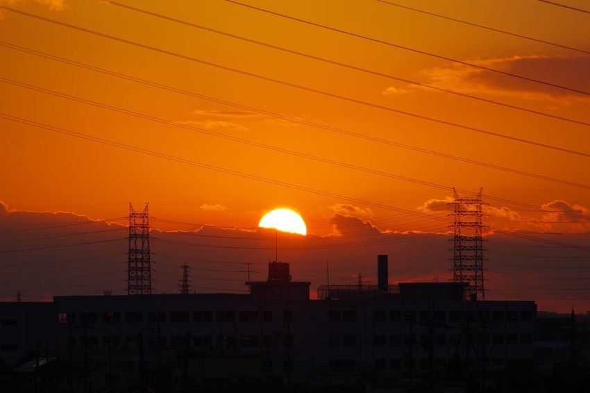 Sunset 淀川