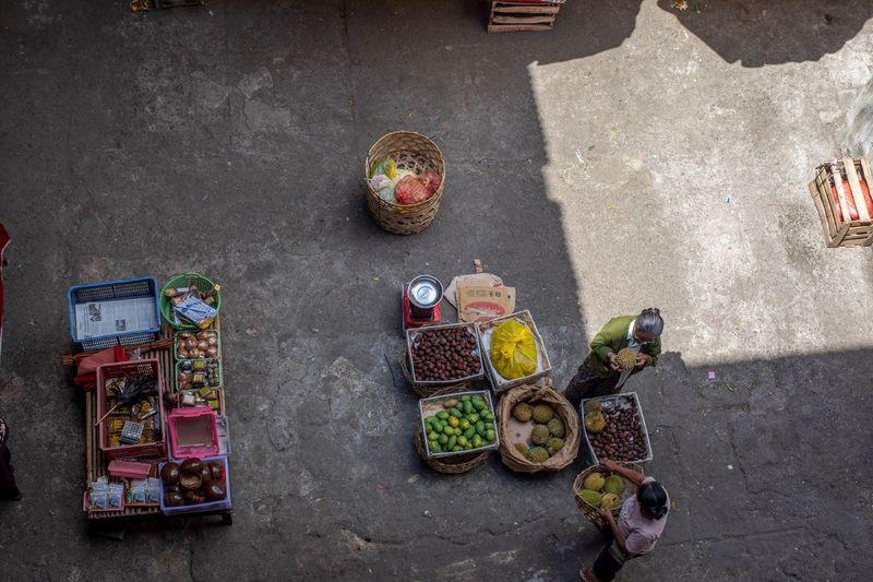 market in Ubud,