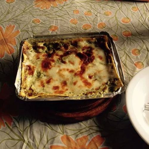 In My Mouf Pesto Lasagna Handmade Cook Delicious ♡ italian food