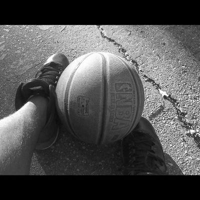 Blackandwhite Basketball