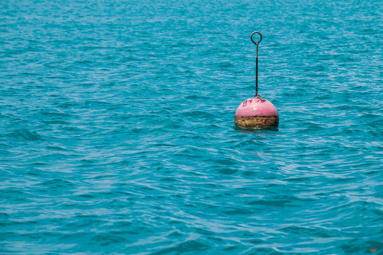 Attersee Austria Beauty In Nature Blue Buoy Day Nature No People Outdoors Sea Summer Tranquility Water Waterfront