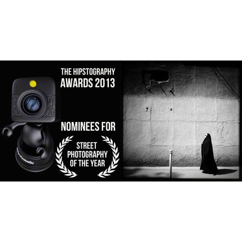 يك خبر خوب ديگه! عكس من نامزد دريافت عنوان بهترين عكس خيابانى سال ٢٠١٣ در سايت هيپستوگرافى شده. براى راى دادن به لينكى كه در پروفايل اينستاگرامم گذاشتم بريد. -------------------- Another good news! I'm honored to be nominated for the best street photo of 2013 on Hipstography.com blog. Don' forget to check the link below and vote for your favorite photos. -------------- http://hipstography.com/en/news-en/hipstography-awards-2013-nominees-street-photography-year.html