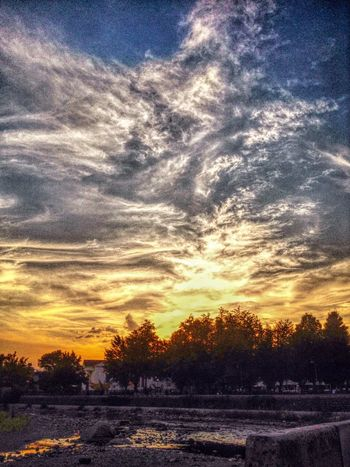 Having Fun Sunset Open Edit River IPhoneography Walking Around HDR by Tallac