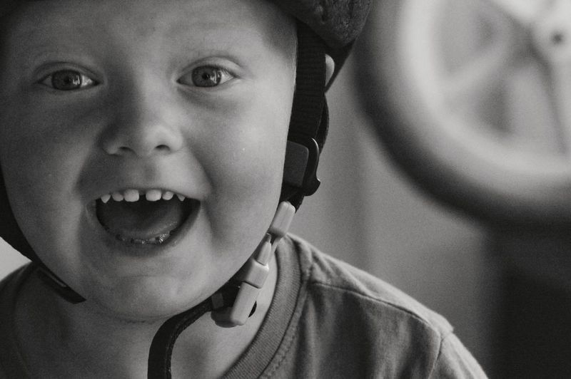 Facial Expression Bike Helmet Helmet Wheel Lifestyles Child Portrait Childhood Smiling Boys Happiness Looking At Camera Protruding Headshot Cheerful Gap Toothed Kid Head And Shoulders Personality  Caucasian Young Children Human Teeth Teeth The Photojournalist - 2018 EyeEm Awards The Portraitist - 2018 EyeEm Awards This Is Natural Beauty 50 Ways Of Seeing: Gratitude Moments Of Happiness 2018 In One Photograph My Best Photo Humanity Meets Technology Moms & Dads Springtime Decadence
