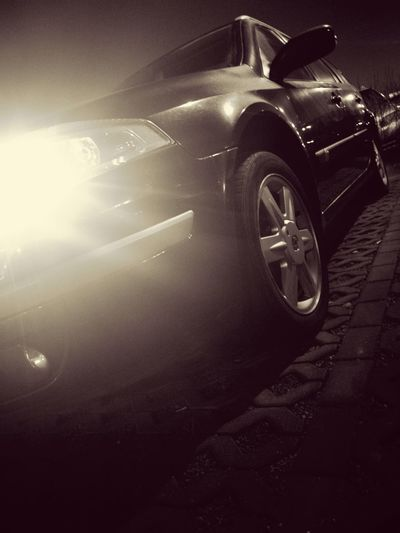 Takie tam autko :) Transportation Metal Shiny Old-fashioned Low Angle View Close-up No People Indoors  Night