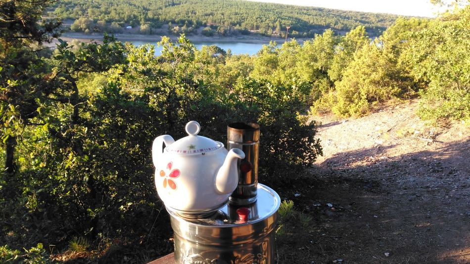 Tea Time Semaverkeyfi Traditional Culture l Lake View Forest