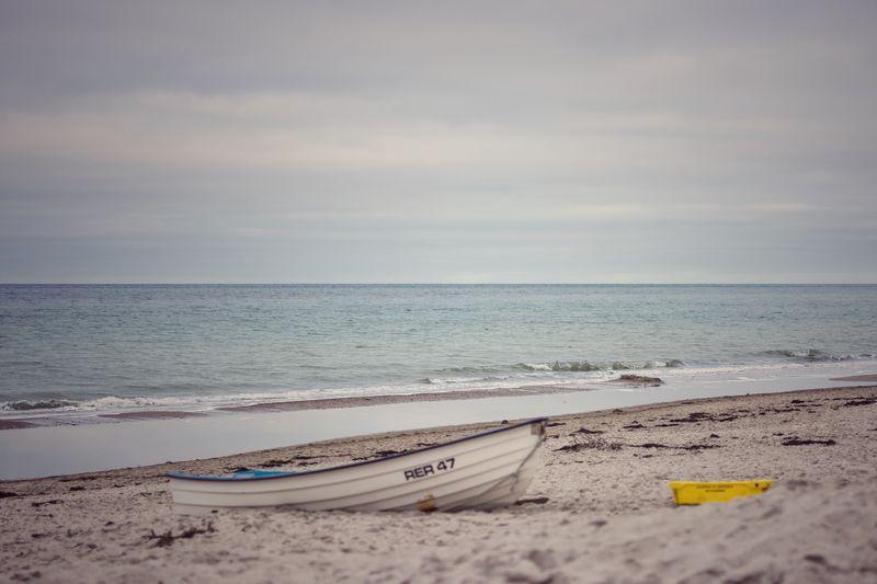 Waiting for a journey. Water Sea Sky Beach Horizon Over Water Horizon Land Sand Idyllic No People