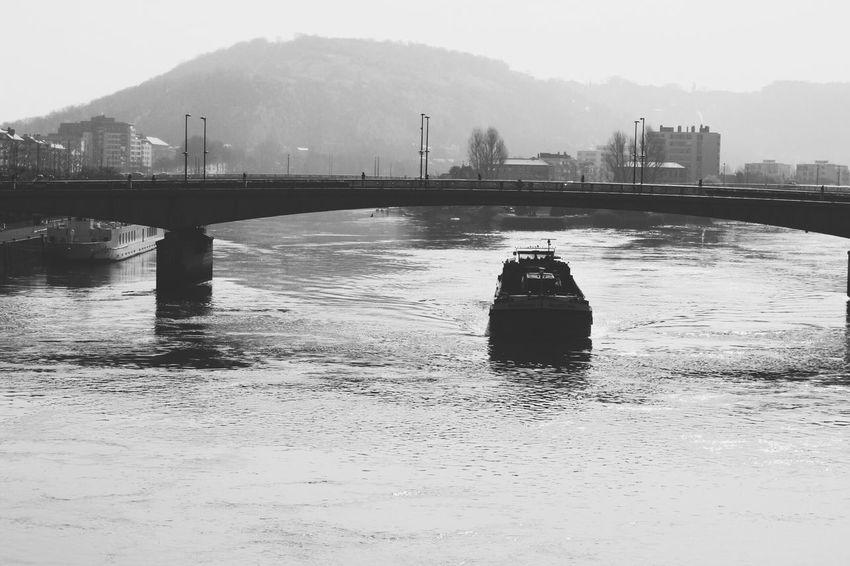 Rouen France Streetphotography Photography Canon Reflex Reflection Bateau Laseine Hello World