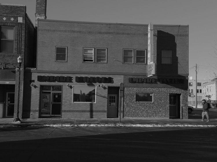 QVHoughPhoto FujiFilmX100 Fargo Northdakota Streetphotography Streetphoto_bw Bar Empireliquors Cityscapes Blackandwhite