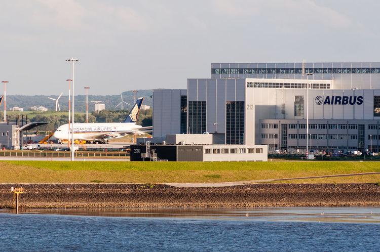 Airbus Factory Fuhlsbuettel Fuhlsbüttel Hamburg Outdoors Plant