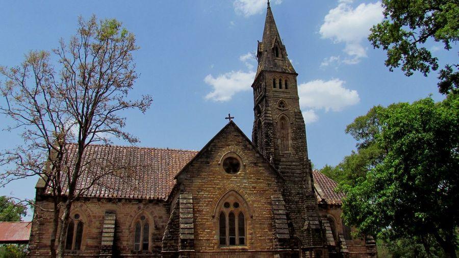 1870 Architecture Church Façade Old Church Pachmari India Place Of Worship The Architect - 2016 EyeEm Awards
