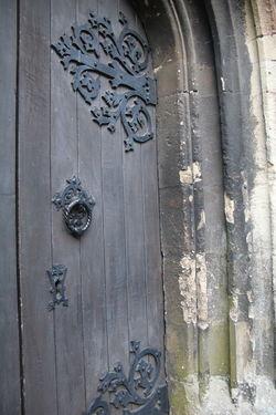 Cathedral Door Catholic Church Historic History Old Door Handle Old Door Hinge Wood - Material Wooden